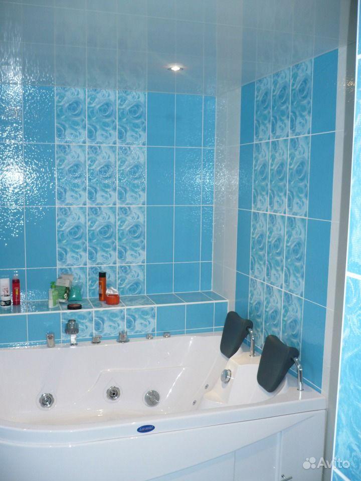 Ванная комната фото плитка голубая