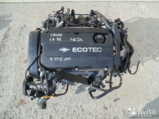 Шевроле авео какой двигатель стоит
