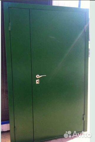вторые металлические двери дешево