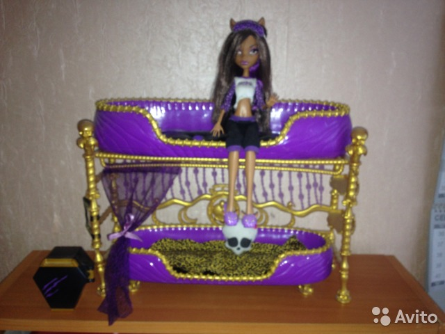 Как сделать для куклы кровать для клодин