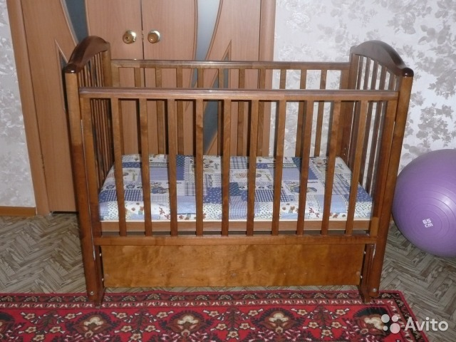 Детская кроватка  пермь авито