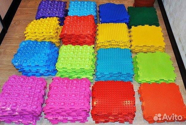 Массажные коврики для деток