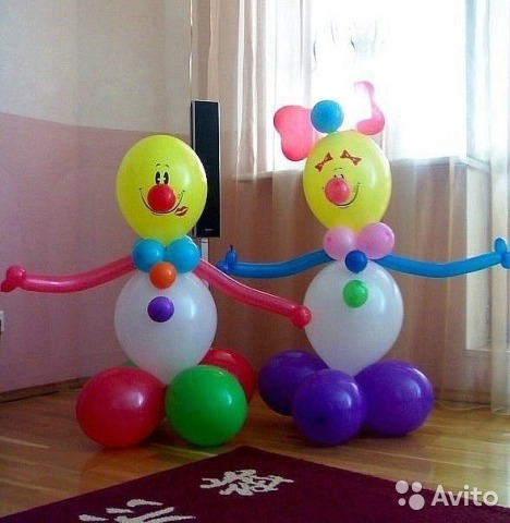 Фигуры из шаров своими руками мастер класс