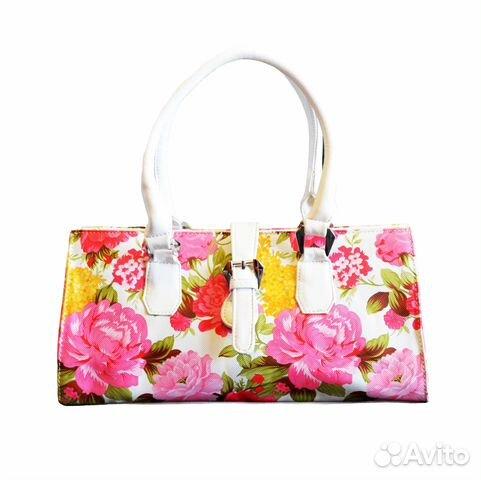 Модные сумки с цветком