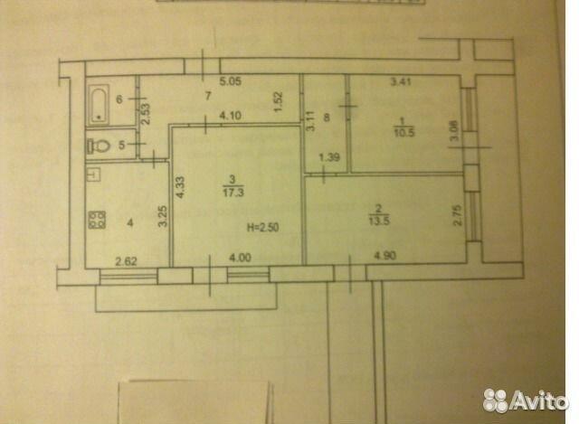 2-комнатная квартира в 2-х уровнях в районе спартановка (улнотрады,24)