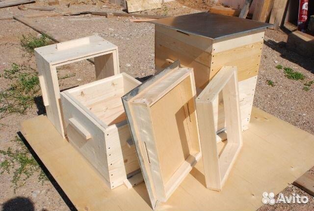 Улей рута двухкорпусный 10 рамочный (сосна)