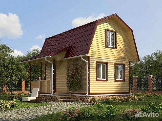 Дачный дом эконом