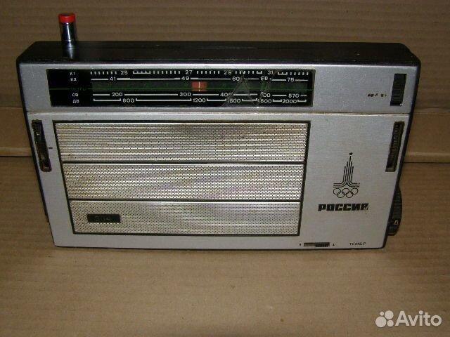 """Радиоприемник """"россия-304""""."""