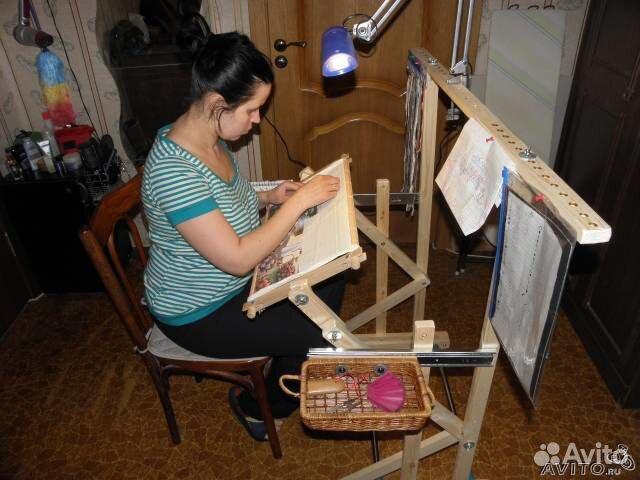 Станок для вышивания своими руками мастер класс