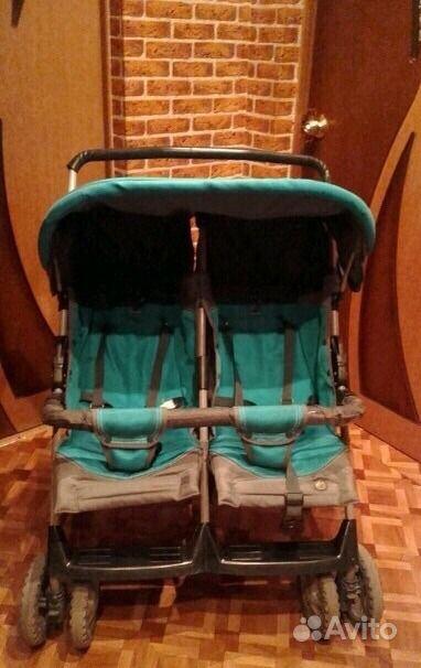 Интересует у кого есть коляска для 2х детей разного