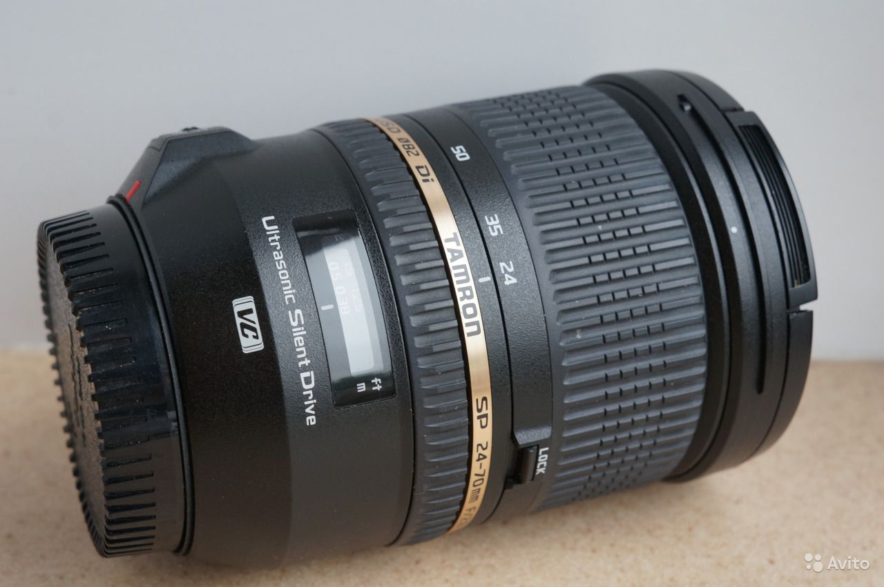 Tamron 24-70mm f/2.8 VC for Canon