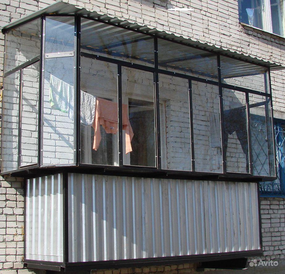 Застеклить балкон металлическими рамами фото.