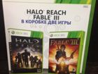 Halo Reach Fable 3 Xbox 360