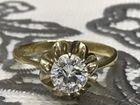 Кольцо с бриллиантом 583 пробы