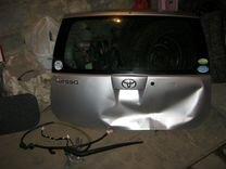 Стекло двери багажника на Toyota Passo — Запчасти и аксессуары в Челябинске