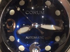 Corum Bubble-Electric Lite Blue /Automatic