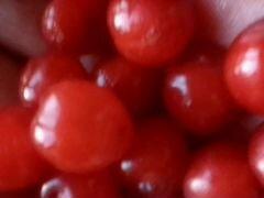 Вишня, смородина красная и черная
