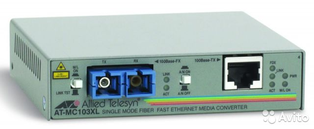 Конвертер Allied Telesyn AT-MC103XL— фотография №1