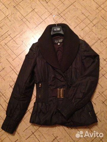 56b9ec56f105 Куртка женская Armani Jeans размер (42-44) купить в Самарской ...