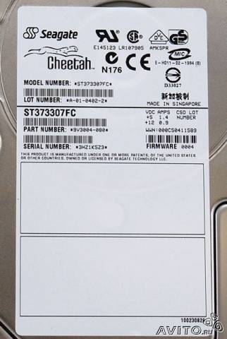 Жесткий диск Seagate 72 GB Fibre Channel