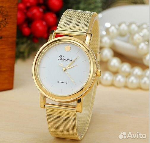 259858b9ce48 Женские часы Geneva Gold купить в Амурской области на Avito ...