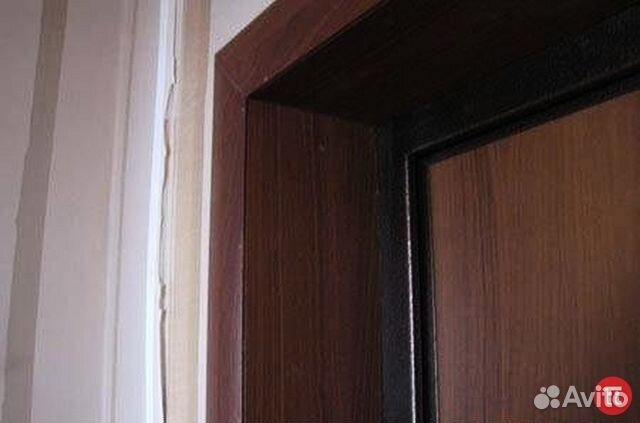 отделка входных дверей изнутри мдф