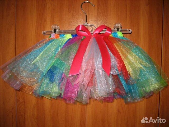 Купить юбку пачку авито