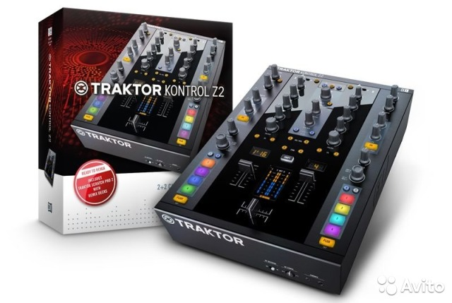 Native Instruments Traktor Kontrol Z2 новый— фотография №1
