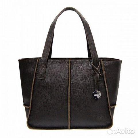 Женская кожаная сумка Prada Double Bag серая   Festima.Ru ... 253dc01dc6c