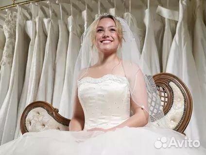 b89592df24a Новые Красивые свадебные платья купить в Белгородской области на ...