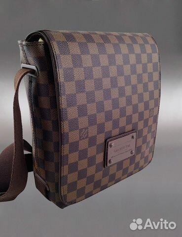 Купить мужскую сумку LOUIS VUITTON Damier в интернет