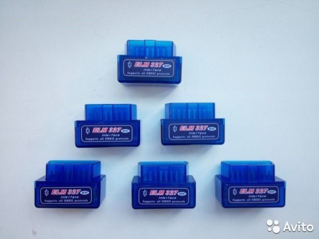 Адаптер ELM 327 mini Bluetooth OBD II— фотография №1