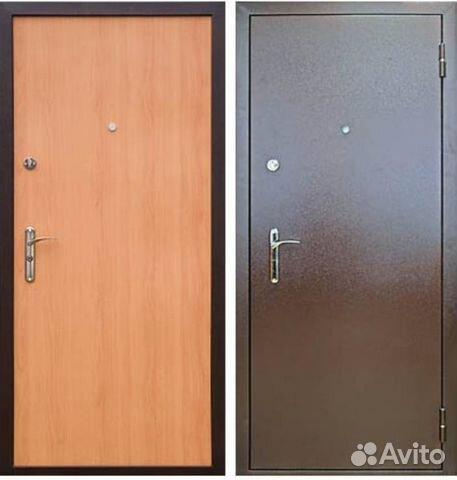 двери стальные гладкие