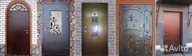 частные входные двери металлические