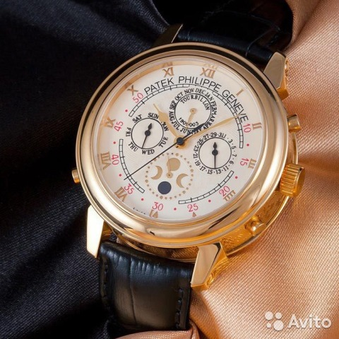 Часы PATEK PHILIPPE Цена со скидкой 32 Гарантия!