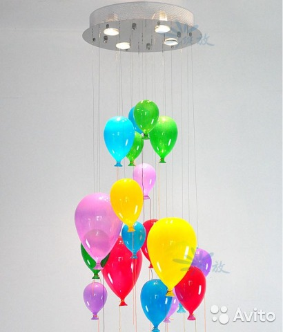 двухкомнатную люстры в детскую воздушные шары Лиге
