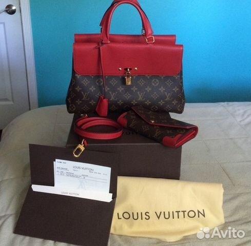 eebb48ddea76 Сумка Louis Vuitton Venus Луи Витон Красная Кожа | Festima.Ru ...