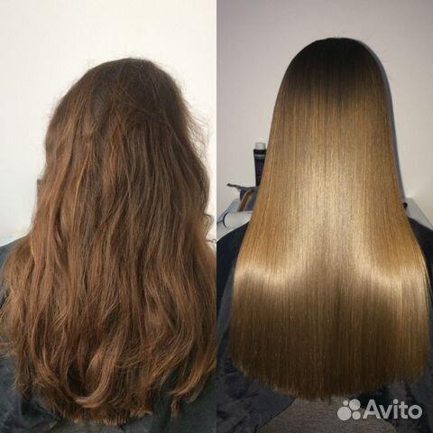 Кератирование и полировка волос