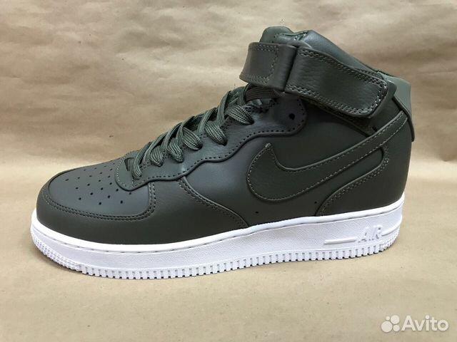 c85ddc20 Кроссовки Nike Air force высокие на осень Женские   Festima.Ru ...
