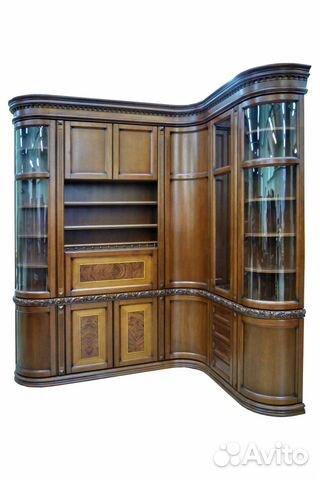 Библиотека,шкафы из массива дуба купить в москве на avito - .