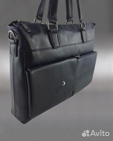 4bbb2129e69b Мужская сумка портфель Mont Blanc арт.2025-3 купить в Москве на ...