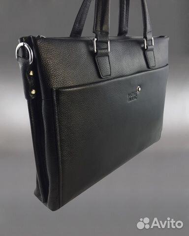 057897f3299e Мужская сумка портфель Mont Blanc арт.2102 купить в Москве на Avito ...