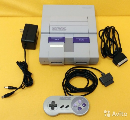 Super Nintendo snes 1Chip-01