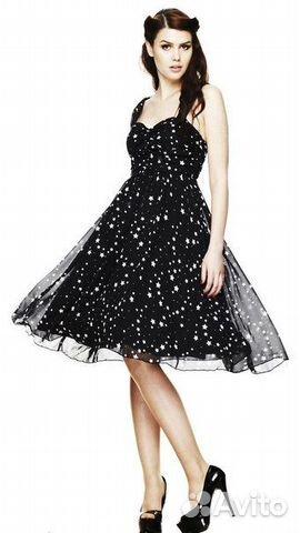b4d6ae51438bfb7 Платье со звёздами Hell Bunny купить в Санкт-Петербурге на Avito ...