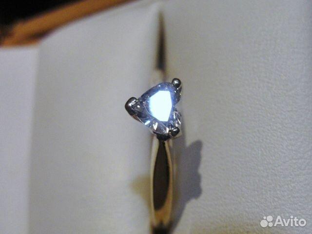 Кольцо бриллиант сердце к Дню святого Валентина— фотография №1 a9eb02497ef