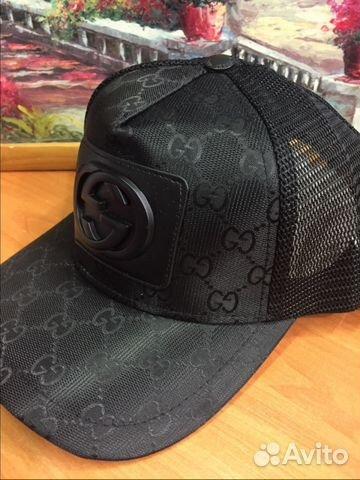 Кепка бейсболка Gucci новая.Черная сетка   Festima.Ru - Мониторинг ... f7937d5bb28