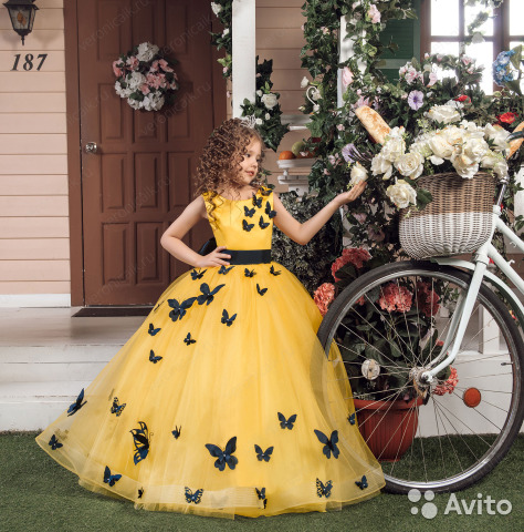 db4539c7339 Нарядные платья детские праздничные
