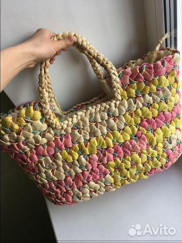 f07d2f1f2cce Пляжная сумка плетёная   Festima.Ru - Мониторинг объявлений
