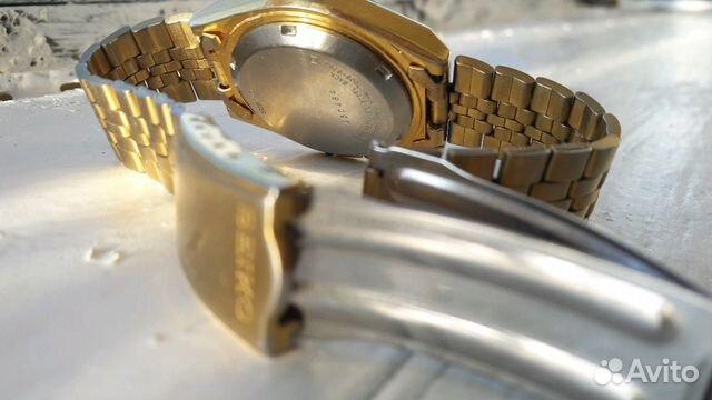 Мужские позолоченные наручные часы Seiko 5 89283211593 купить 9