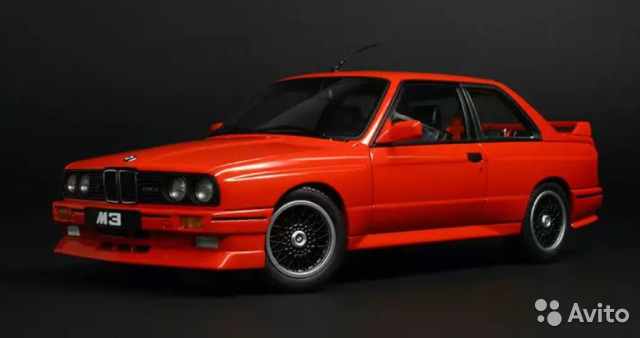 Bmw 3 Series M3 E30 Sport Evolution Autoart 143 купить в москве